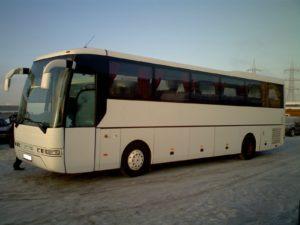 Аренда автобуса MAN белого цвета